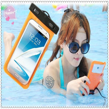 Fashion waterproof case smartphone with clear pvc cover