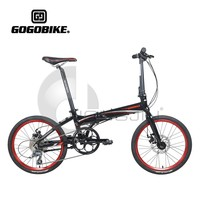 20 Inches 6 Speed Disc Brake Folding Bikes