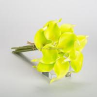 lily flower calla lillies pu artificial callas wedding flowers
