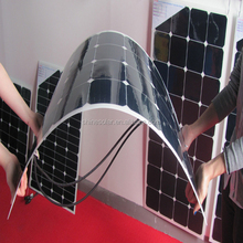 CE approved 100w 18v flexible solar panel with pv cells