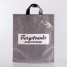 Excellent quality custom gravure printed shopping packaging see through plastic bags