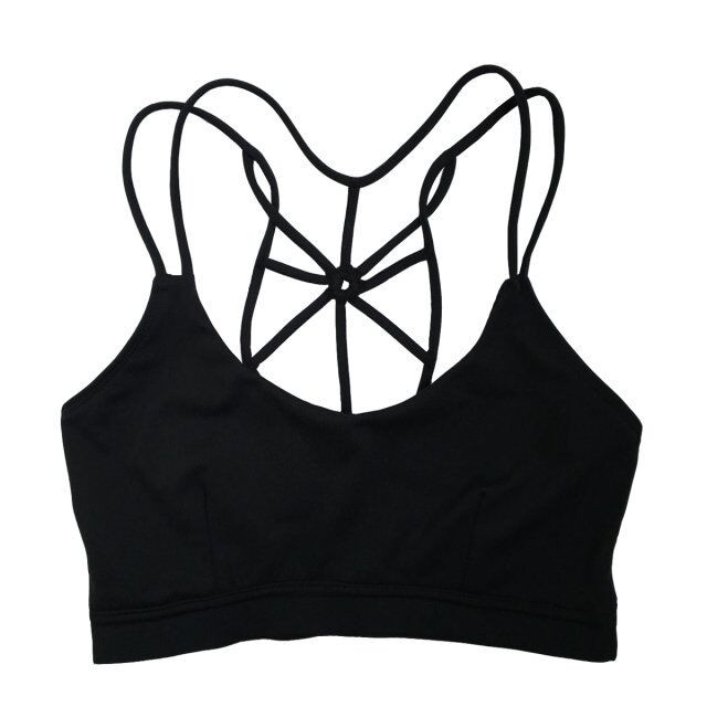 Net Shape Sexy fitness athletic padded seamless women wholesale sports bra