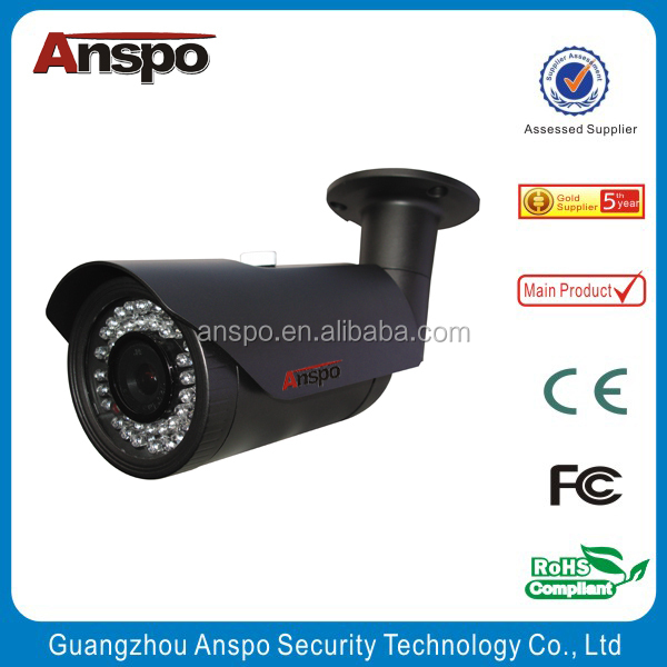Anspo vision cctv Cameras outdoor poe iris professional 1080p full hd 5mp IP Camera