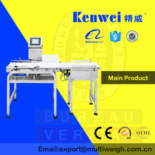Best selling items weight classifier checking machine production line overwrap packaging machine?