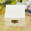 Wholesale hot sale square wooden jewelery box gifts wood jewelry box,wood packaging box