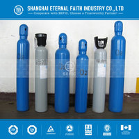 Different Sizes And Colors Empty High Pressure Nitrogen Argon Gas Bottle 40L Industrial Oxygen Cylinder