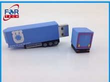 Long Truck USB Flash Driver key/Pvc Lorry USB Memory Sticks/Logistics Shipping Giveaway Scale Diecast Truck 1gb to 16gb