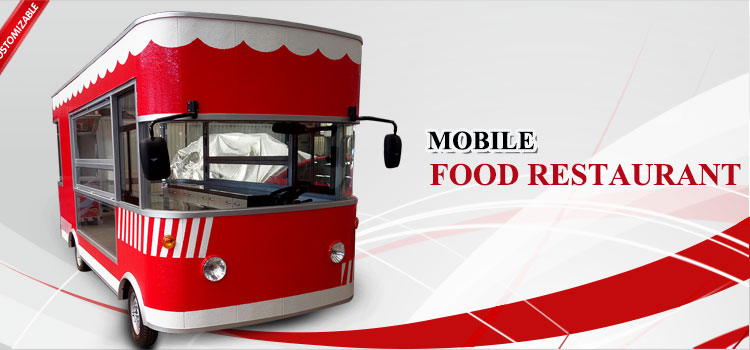 New model large mobile alibaba food truck