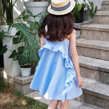 New Girls'<strong>Dresses</strong> in Summer of 2019 Leisure Fashion Korean Kids' <strong>Dresses</strong> little <strong>girl</strong> clothing