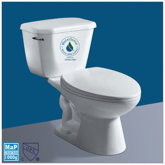 UPC certified Two Piece Toilet