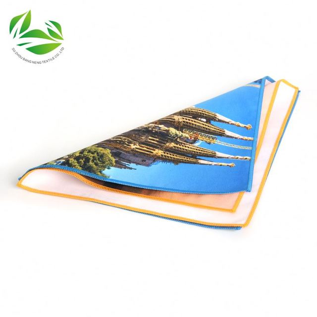 manufacturer of sublimation kitchen towel,Microfiber Tea Towel custom transfer printed Kitchen towel