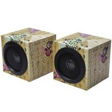 cardboard fold up speakers
