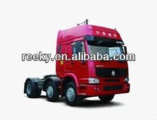 380hp HW79 cab with two berths Howo 4x2 tractor truck with CE