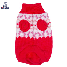 Popular winter pet clothes dog christmas sweater free knitting pattern
