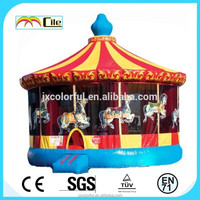 CILE Merry-go-round Castle Play Center for Kids and Adults Leisure and Recreation