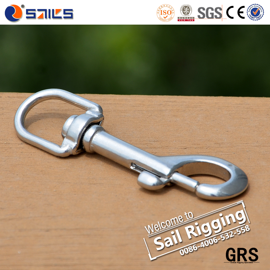 Stainless steel 316 key chain dog leash snap hook