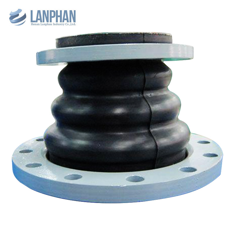 stainless steel flanged concentric reducing rubber expansion joint