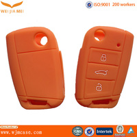 high quality 3D cheap car key factory make silicone car key case