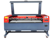 Cloth,leather CO2 laser cutting machine working size 1600X900mm