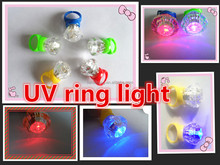 CH-9008 ring shape uv light key chain, logo workable&UV LIGHTER/UV LED/UV KEY-TORCH