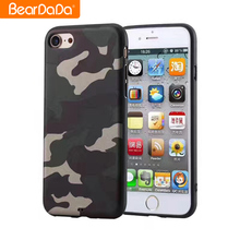 New Arrival camouflage phone cases for iphone 7 plus
