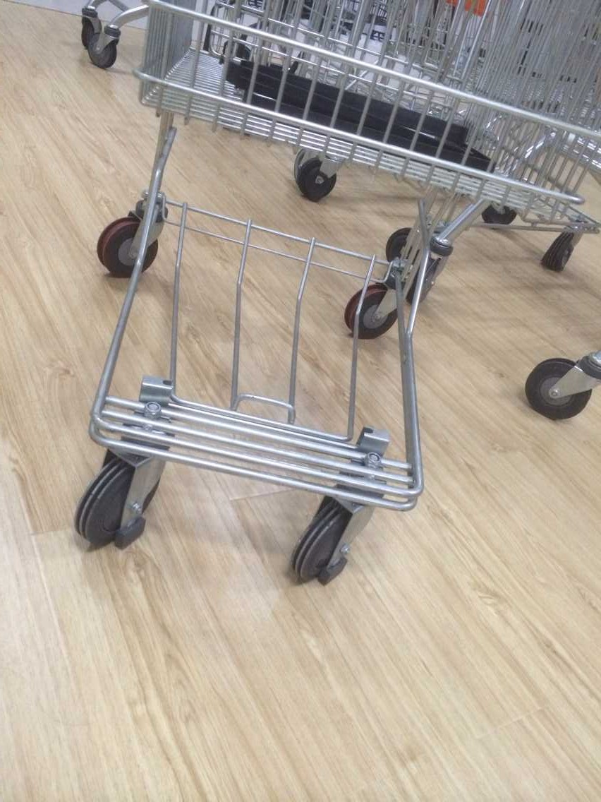 4'' Japanese style Trolley Wheel for Supermarket Trolley