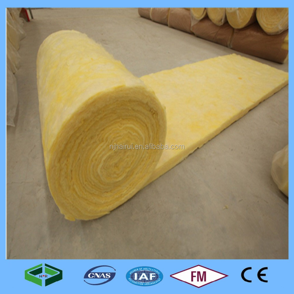 Soundproof Glass Wool Metal Building Insulation ( MBI ) Glass Wool