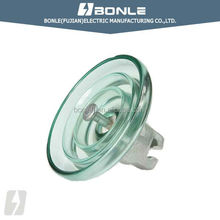 100-140kv pin type toughened glass disc insulator