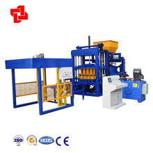 QTY4-15C fly ash brick making machine with plc system
