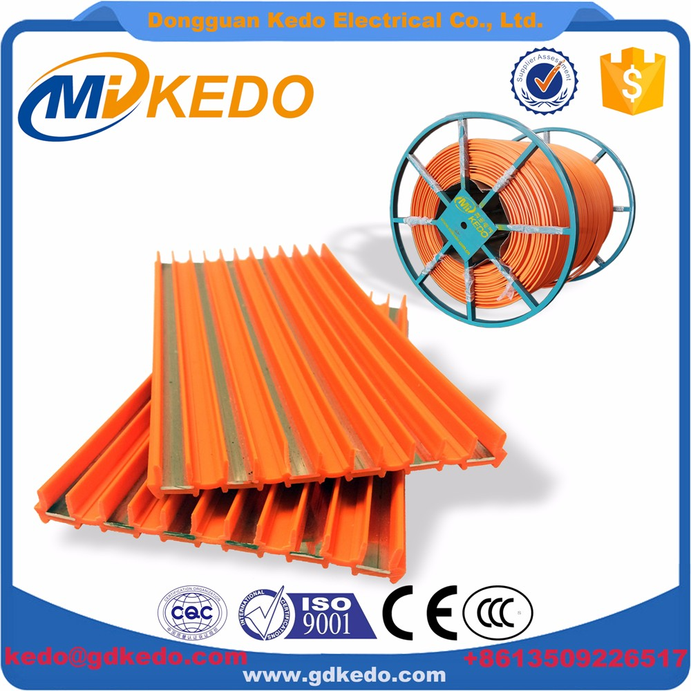 Good Price Kedo 6p 140A Red Copper mobile Bus Bar for Building Gantry Crane