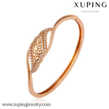 50621 xuping jewelry rose gold color imitation jewellery women charming style bangle