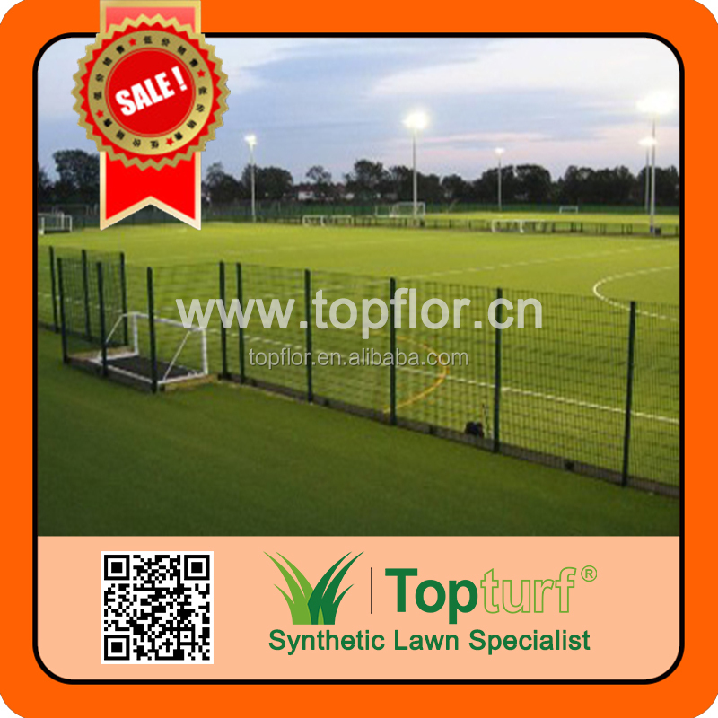 Good Quality soccer field no infill sporting grass soccer artificial turf