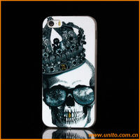 Cool skull design TPU soft case for iPhone 5 5s