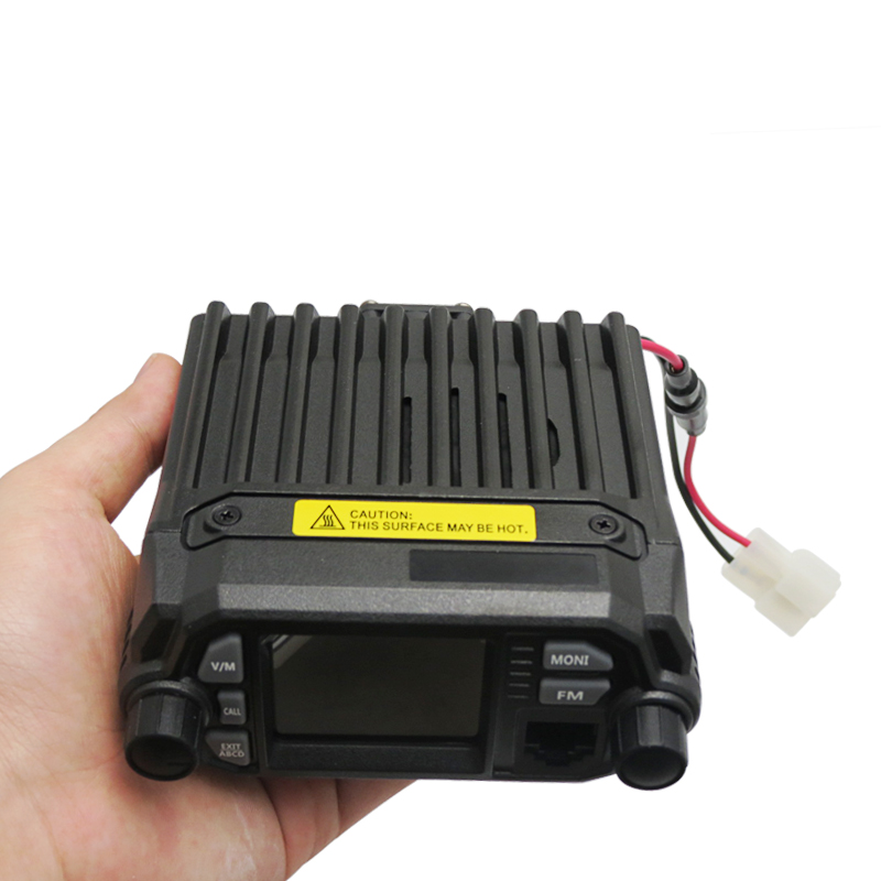 7900D Mini vhf uhf radio vehicle mouted 5tone/2tone quad/dual band mobile radio transceiver
