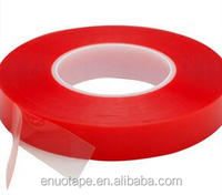 Red MOPP Liner Acrylic Adhesive Tesa 4965 Equivalent Double Sided PET tape
