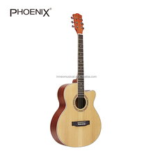 Hot Sale Spruce Laminated Top Acoustic Guitar