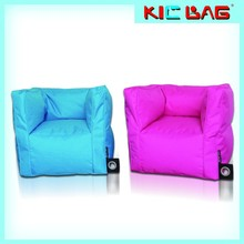 popular style bean bag armrest chairs outdoor beanbag sofa