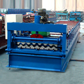 XN-750 hangzhou hot sale manual metal steel roof / wall color steel tile sheet roll forming making machine