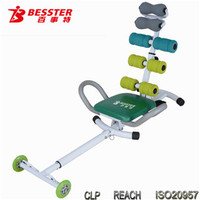 JS-060HA 2014Hot-selling AB product ab wheel sit up exercise equipment functional training