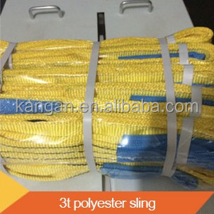 automobile making flat webbing sling polypropylene slings