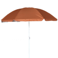 Weideng hotsale cheap solid color outdoor uv protection beach umbrella