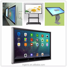 Hot sales 50 65 75 86 inch IR LCD LED interactive touch screen monitor for education