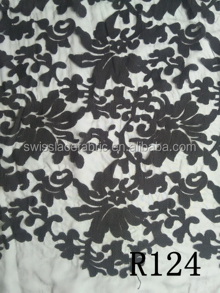high quality tulle lace fabric french Chantilly african lace