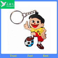 2014 Promotion Fashion Custom soft pvc key holder