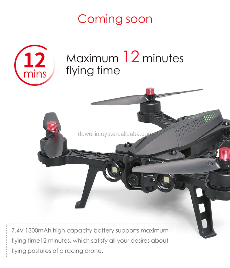 DWI Dowellin 5.8G FPV Racing drone brushless motor with 720P camera