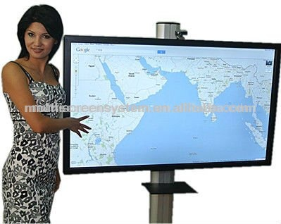 65inch led media display all in one pc touchscreen/pc tv all in one (CPU:I3,I5,I7) for school education/home/business center