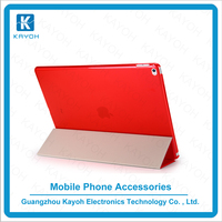 [kayoh] wholesale tablet case for ipad air 2 case three fold flip case