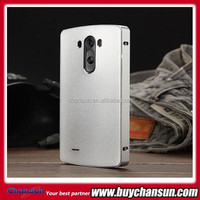 Luxury Brushed Metal Aluminium material case For LG G3 D850 D855 phone case cover