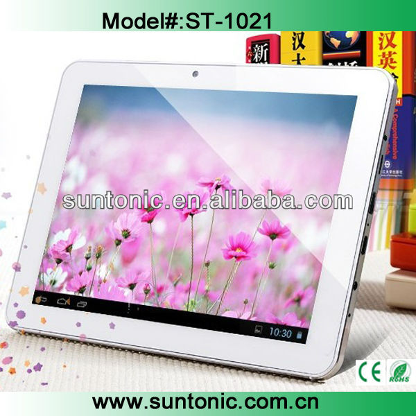 2013 newly-launched quad core tablets with 10 inch IPS display screen