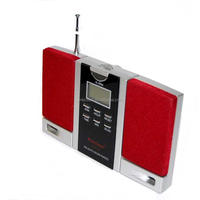 High Sensitivity Digital Display Clock Radio